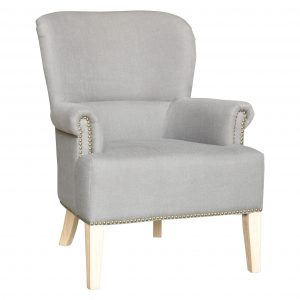 linen arm chair for hire