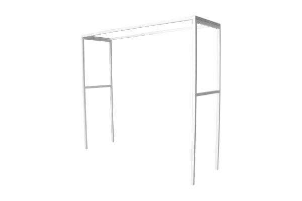 white arch or over table frame